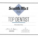 Dr. Alexander Shor chosen as a Top Dentist by his peers.
