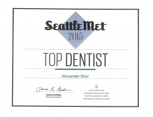 Seattle Best Dentist Alexander Shor 2015